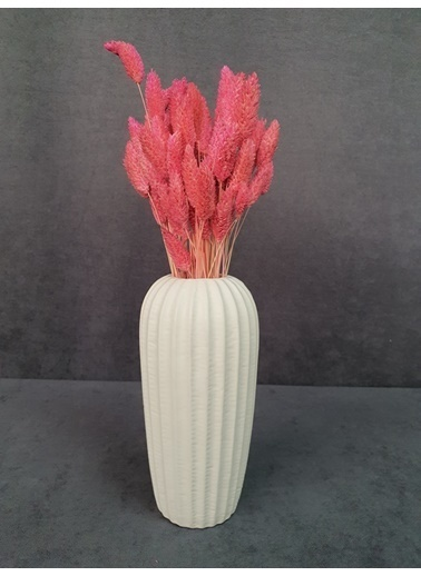 Kuru Çiçek Deposu Kuru Çiçek Kuş Otu 35-40 Cm  Koyu Mor  Pudra